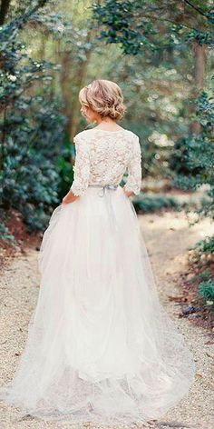 Fine Long Sleeves Bridal Dresses 35