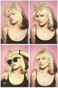 Style icon and major babe, Debbie Harry. Blondie Debbie Harry, Debbie Harry Hot, Divas, I Love Music, Photos Booth, Portraits, Portrait Poses, Recital, Up Girl