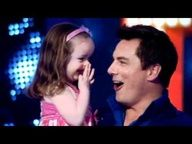 the cutest little girl kisses captain jack harkniss :)))))) The Best John Barrowman Video on YouTube (TTN S2E06)
