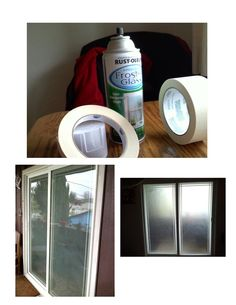 DIY Frosted Door