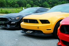 parked yellow Ford Mustang coupe and black car Ford Mustang Coupe, Fitness Workouts, Valet Parking, Sell Used Car, Used Ford, Car Goals, Bmw Z4, Performance Cars, Ford Ranger