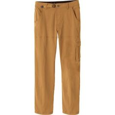 Whether you're teching your way up a tough slab, figuring out the sequence on a roof section, or hiking in to camp, the Prana Men's Stretch Zion Pant can hang. Its stretch nylon fabric and gusseted crotch provide a natural range of motion for all your scramble-loaded adventures, while the water-resistant finish helps keep your legs dry if you get caught in a little rain.