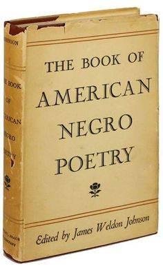 Edited by James Weldon Johnson.