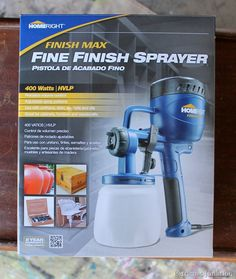 HomeRight Finish Max Fine Finish Sprayer, My new best friend. I love this sprayer, Petticoat Junktion #homeright