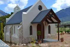 Beautiful beautiful little church on a private farm. Church Building, My Church, Beautiful Beautiful, Cathedrals, All Over The World, Worship, South Africa, Buildings, Mansions