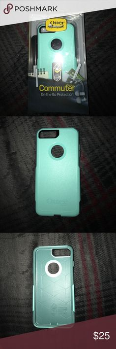 iPhone 7 Plus Otterbox Commuter Case Slightly used, original packaging Other