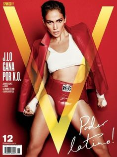 Jennifer Lopez - V Magazine Spain - V Magazine Spain S/S 12 Cover