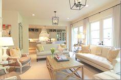 neutral living room, beautiful