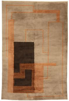A French Deco Rug BB5153