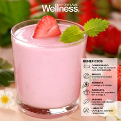 wellness nutrishake by oriflame Nutrishake Oriflame, Oriflame Beauty Products, Nutrition Drinks, Panna Cotta, Protein, Health, Ethnic Recipes, Desserts, Honduras