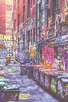 Colourful mass of graffiti Best Graffiti, Street Art Graffiti, Graffiti Artwork, Art Mural, Graffiti Photography, Art Photography, Amazing Street Art, Grafik Design, Public Art