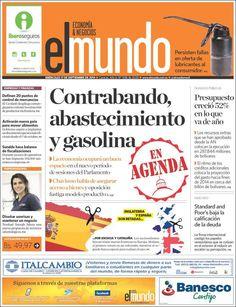 #Portadas #PrimeraPagina #Titulares #Noticias #DesayunoInformativo @ElMundoMovil