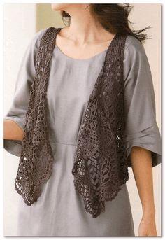 Irish crochet &: VEST ...........ЖИЛЕТ                              …