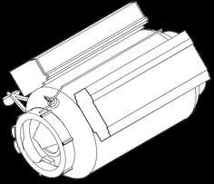 Mir Docking Module drawing - Mir (Raumstation) – Wikipedia