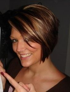 Love the cut and color!! if only i could work up the nerve to go that short!