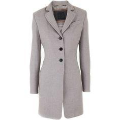 Nusco Stone Coat Harper ($520) ❤ liked on Polyvore