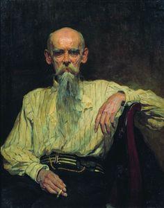 Маковский Александр Владимирович (Россия, 1869 – 1924)«Портрет художника Ефима Ефимовича Волкова» 1914