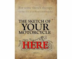 Your own motorcycle HANDMADE SKETCH send a photo of by drawspots #motorcycle #art #gift #giftforhim #gift #birthday #valentine #valentinesday #drawing