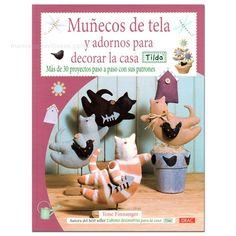 Manos Maravillosas Muñecos de tela y adornos para decorar la casa. Tilda