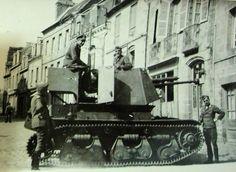 Panzerjäger 35R mit 4,7-cm-PaK 36(t). Antichar châssis R35