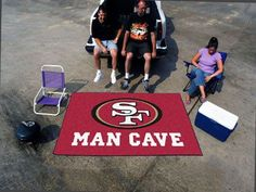 NFL - San Francisco 49ers Man Cave UltiMat 5'x8' Rug