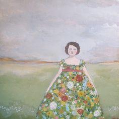 rebecca wore a dress of wildflowers By amanda blake