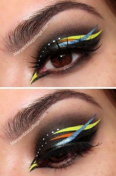 detailed Samba Makeup