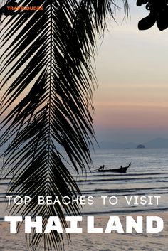 Tips for visiting two of the top beaches in Thailand, Railay and Koh Lipe. Best beaches, where to eat, and how to get there. | Blog by Travel Dudes: Community for Travelers, by Travelers!