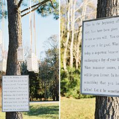 Hanging quotes//vows
