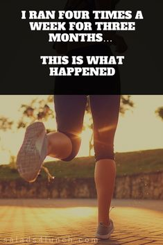 This is great running motivation! Who knew that running could do that? Running for weight loss! 4 way to run your way to lose weight! Beginning Running, Running Plan, Running Workouts, Running Tips, At Home Workouts, Running Schedule, Running Training Programs, Lose Weight Running, Running Outfits