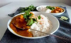 Curry de potimarron et patates douces au lait de coco. Vegan, Paléo, sans gluten et sans lactose. 100% végétal et 100% plaisir !