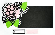 Large Flower Card – 3 ways!