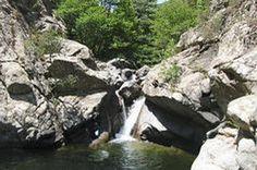 Corsica - Cascades et Canyons -   Ruda - Corscia - Niolu - Massif : Cinto.Bassin : Golo.(Haute Corse)