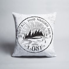Wander - Cushion cover by Matthew Taylor Wilson Artist Signatures, Throw Cushions, American Artists, Decorative Accessories, Wander, Hand Lettering, Art Pieces, Graphic Design, Cover