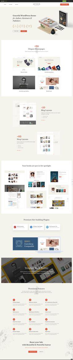 Wordpress Theme, Writer, Ecommerce, Books, Store, Libros, Writers, Book, Larger