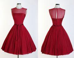 Vintage red rasberry
