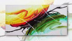 Foto: Quadro abstrato decorativo Britto