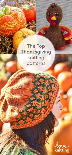 28 Best Thanksgiving Knitting Patterns images in 2018