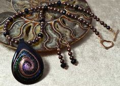 Pearl & Murano Glass Necklace Set £53.25