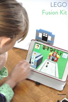 LEGO Fusion Kit is a fun learning gift that combines building and technology for innovative and creative kids.