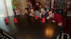 Minute to Win It games.  Great family fun.