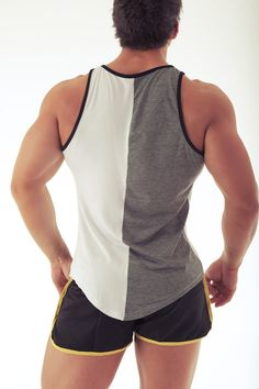 BuildYourEmpire luxurious tapered singlet! Designed to enhance the physique of the wearer! Available only at www.BuildYourEmpire.com.au - delivering worldwide!
