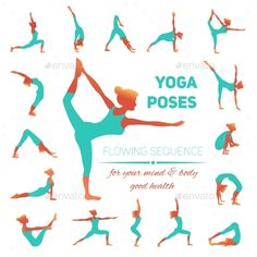 Yoga poses icons vector 3691456 - by macrovector on VectorSt.- Yoga poses icons vector 3691456 – by macrovector on VectorStock Yoga poses icons vector 3691456 – by macrovector on VectorStock - Yoga Fitness, Fitness Workouts, Health Fitness, Pilates, Beginning Yoga, Yoga Stretches For Beginners, Yoga Exercises, Yoga Tips, Yoga Illustration