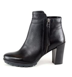 OVERIDER 'EVA' Leather Ankle Boots, these cool heeled boots will add an effortless boho-rock edge to you're outfit, ready to party. Leather Ankle Boots, Heeled Boots, Shoe Boots, Boho Rock, Leather Tassel, Smooth Leather, Booty, Zip, Outfit