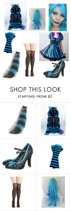 """Cheshire Cat 2 (Tim Burton)"" by mpeterson111199 ❤ liked on Polyvore featuring T.U.K."