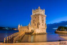 Wieża Belém  / Belém Tower Tower Bridge, Travel, Viajes, Destinations, Traveling, Trips