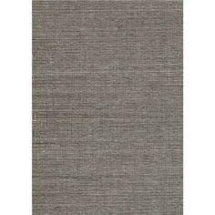 53-65409 Grey Grasscloth - Daio - Kenneth James Wallpaper