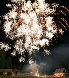 fireworks display to surprise wedding guests | photo by Max Wagner