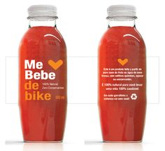 Me bebe | packaging | branding | natural juice | beverages | by Packaging Brands