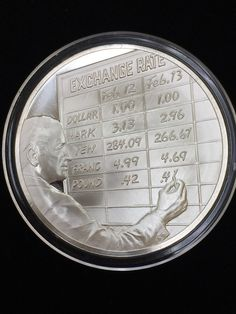 Exchange Rate Franklin Mint February 12 Silver Coins My Etsy Quarters
